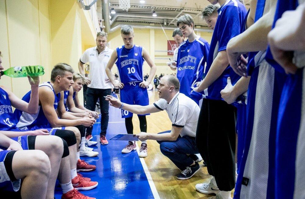 Korvpall Eesti U16 noormehed