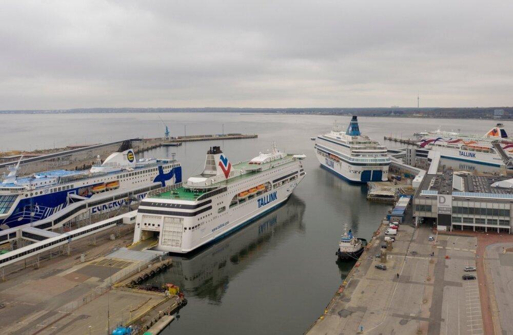 Tallink активно выполняет план по сокращениям. В октябре работу потеряют 550 человек