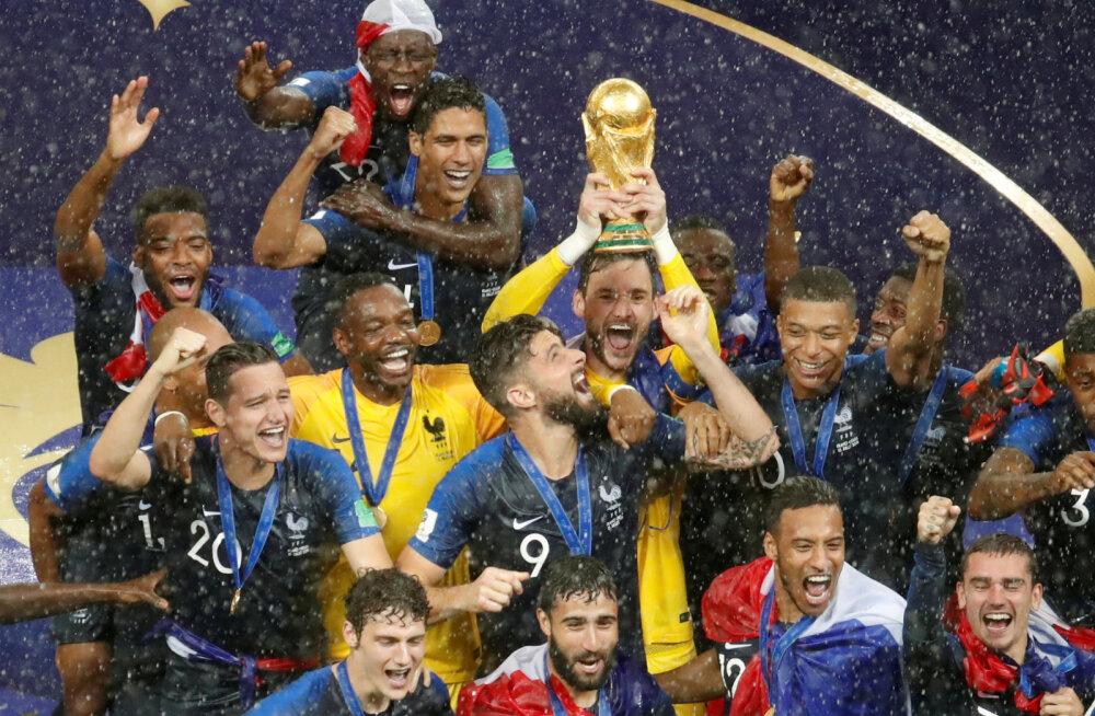 Kellel prantslastest näpud põhjas on? 2018. aasta MM-i kuldmedal müüdi oksjonil 65 000 euro eest