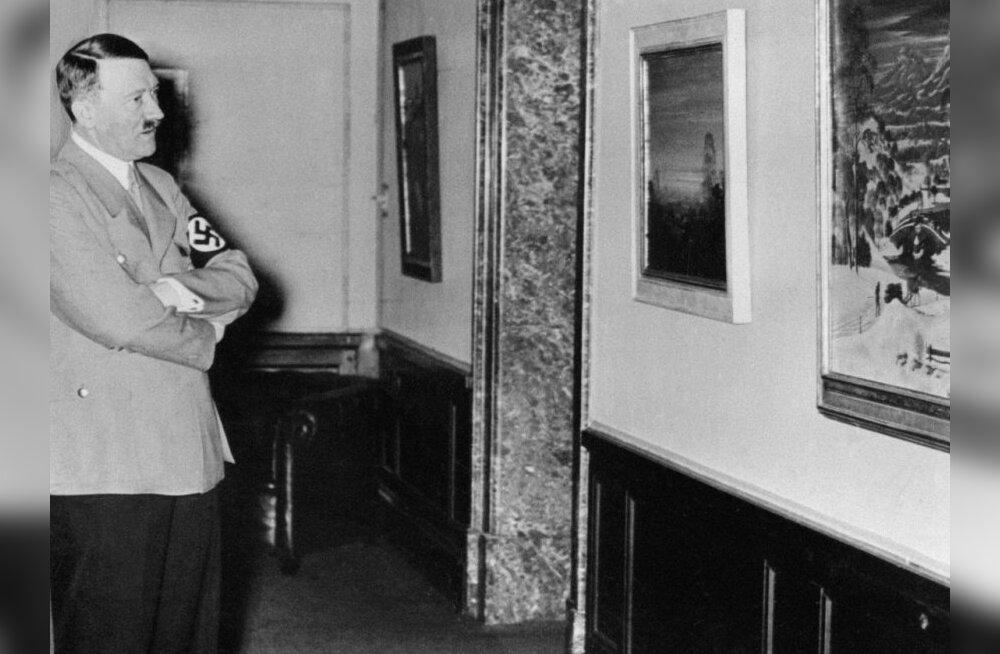 FOTOD: Hitleri varajased akvarellid pannakse oksjonile