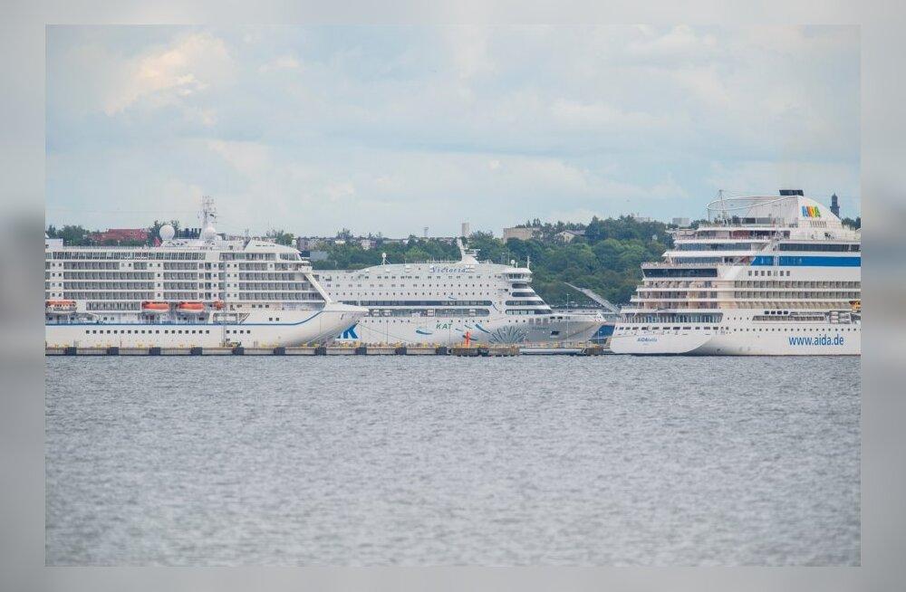 Laevad Tallinna sadamas
