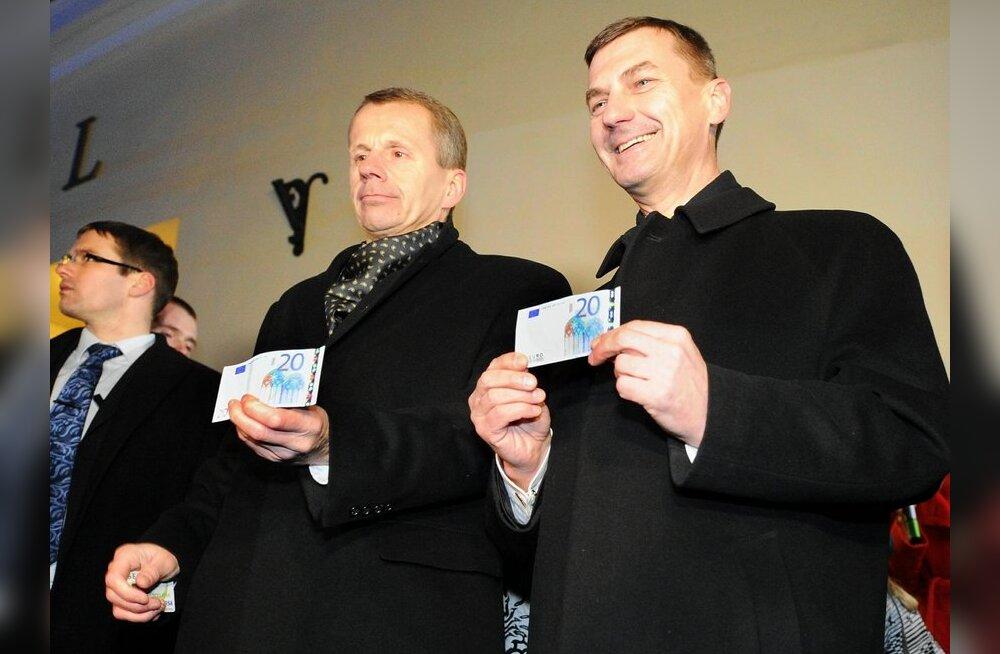 Euro tulek Eestisse