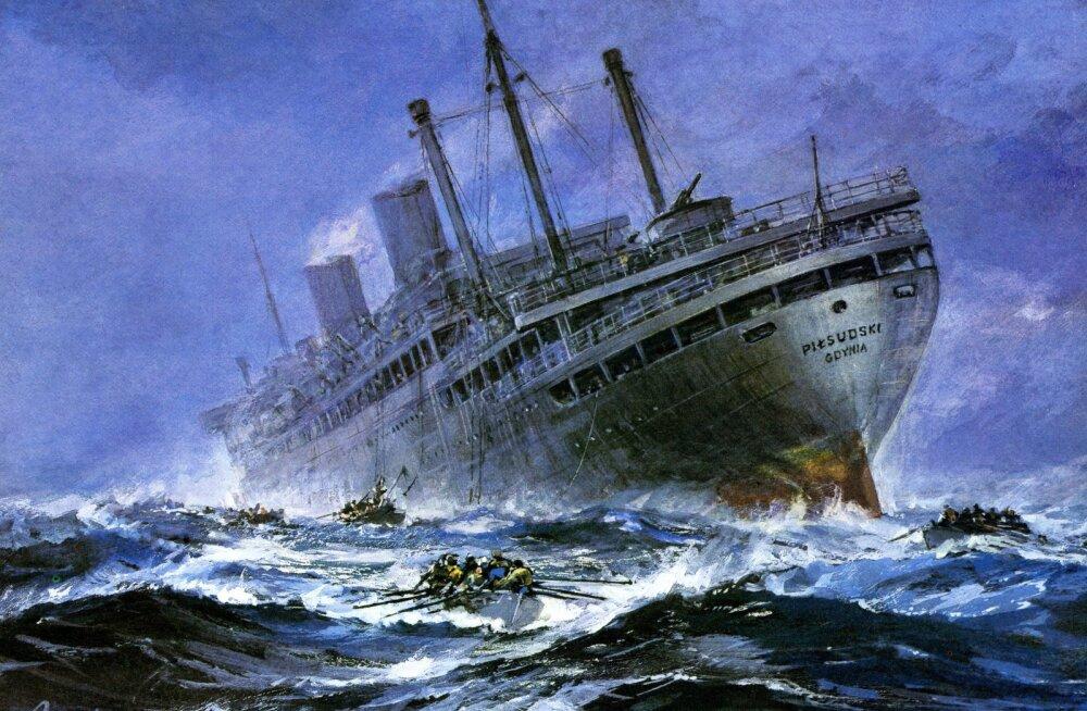 KATKEND RAAMATUST | Atlandi hiiglased ja suurpurjekad maailmas. Poolakate poolhiiglased Teises maailmasõjas