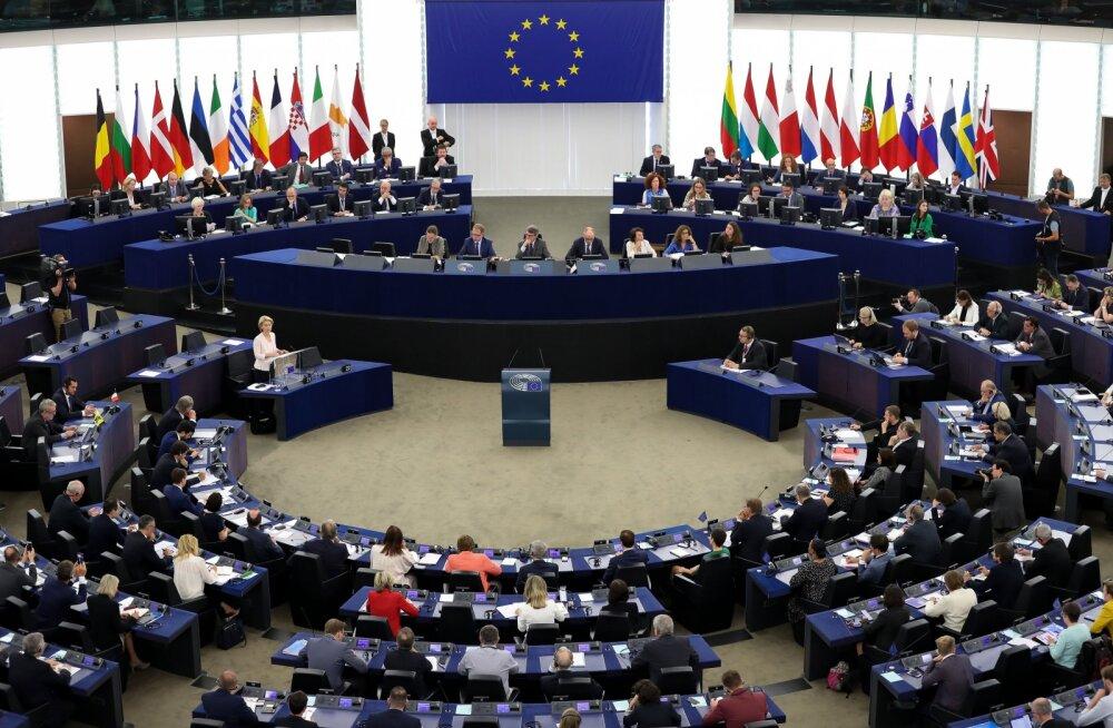 GRAAFIK | Kena palk ja prisked hüvitised: kui palju teenivad Eesti eurosaadikud?