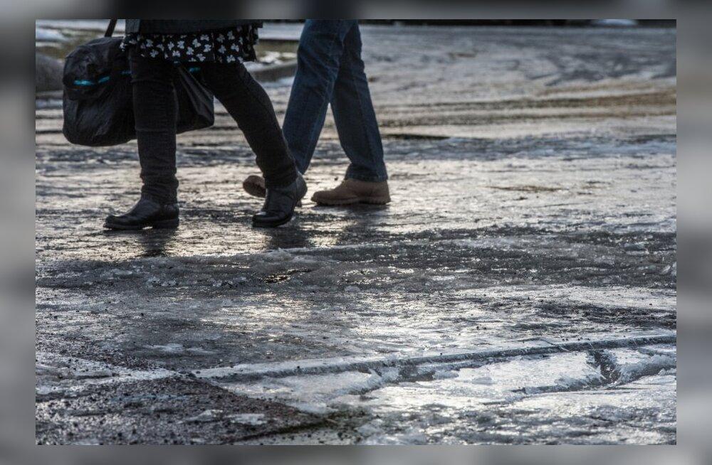 Libedahoiatus: tallinlased, olge tänaval liigeldes ettevaatlikud või püsige kodus