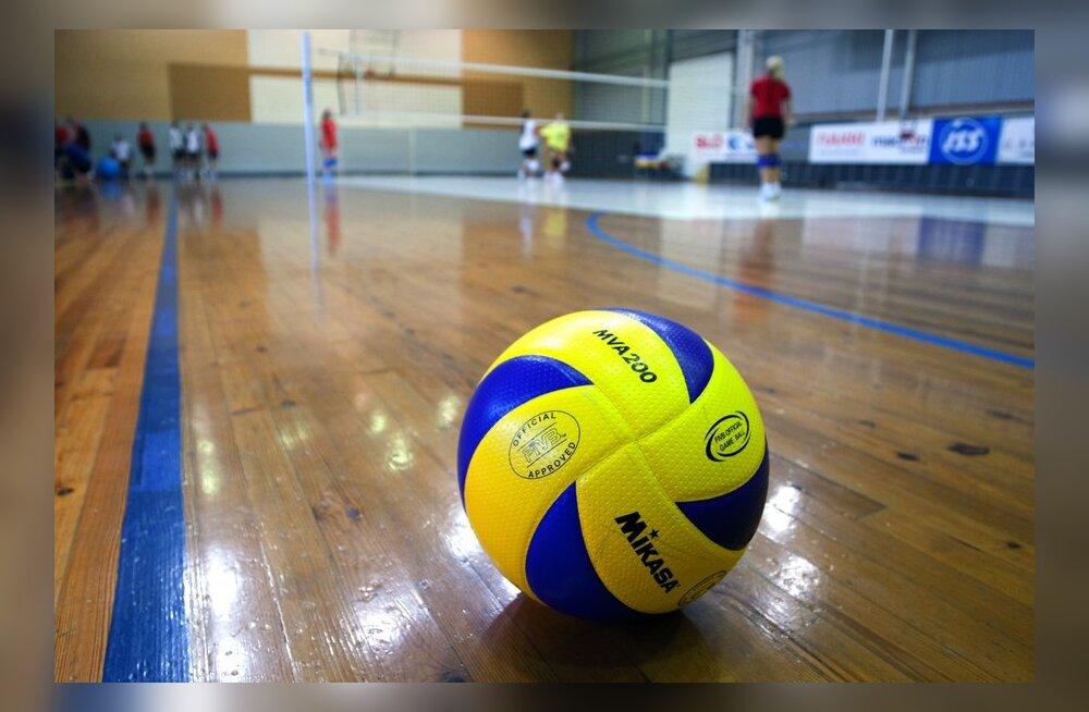 Eesti meeste võrkpalli karikavõistlustel selgus viimane poolfinalist