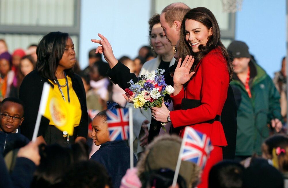 Hertsoginna Kate 6. veebruaril 2017