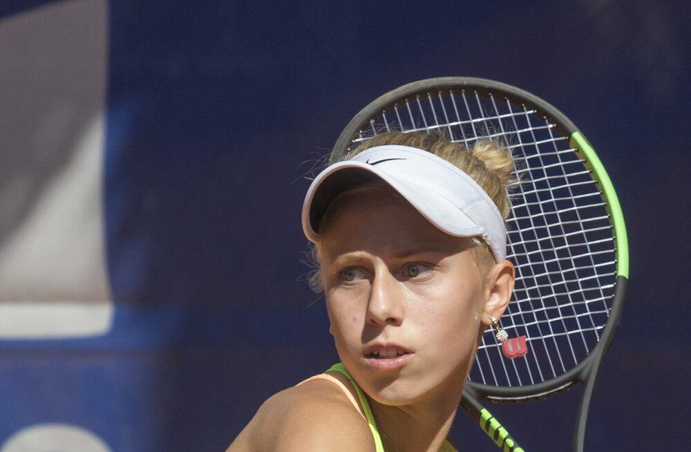 15-aastane Lissi Kubre jõudis ITF-i noorteturniiril finaali