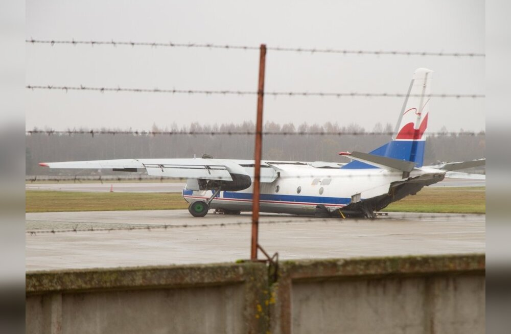 Purunenud telikuga kaubalennuk tegi hädamaandumise Ülemiste järvejääle
