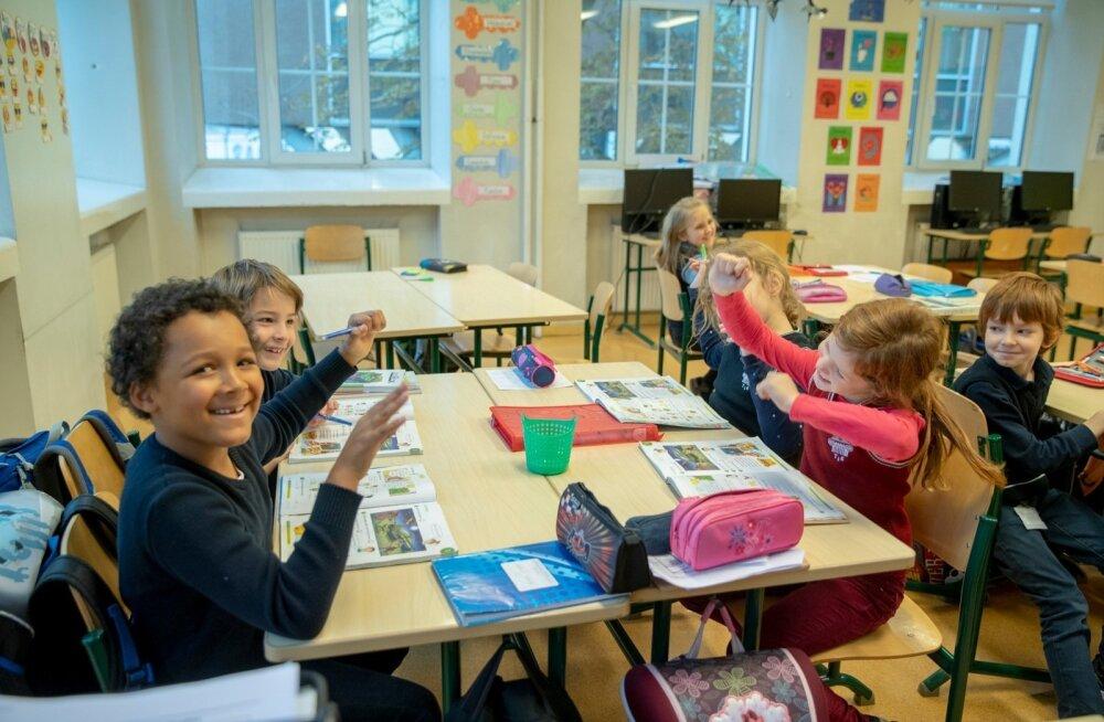 Tallinna inglise kolledži IB klassi võetakse nii tippspetsialistide, diplomaatide kui ka ettevõtjate lapsi.