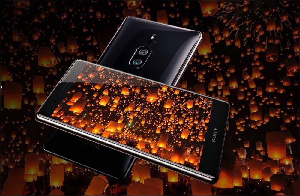 Xperia XZ2 Premium: esimene Sony telefon, millega tasub tõesti ka hämaras pildistada