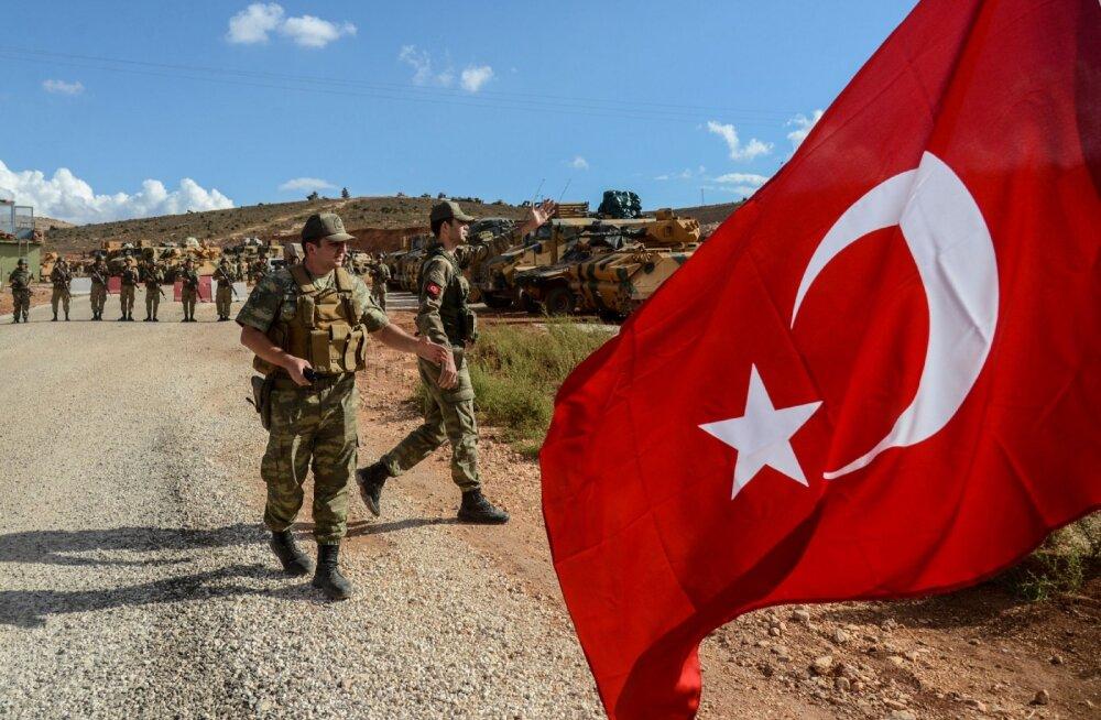 Süürias hukkus Assadi valitsuse toetajate tule läbi Türgi sõdur