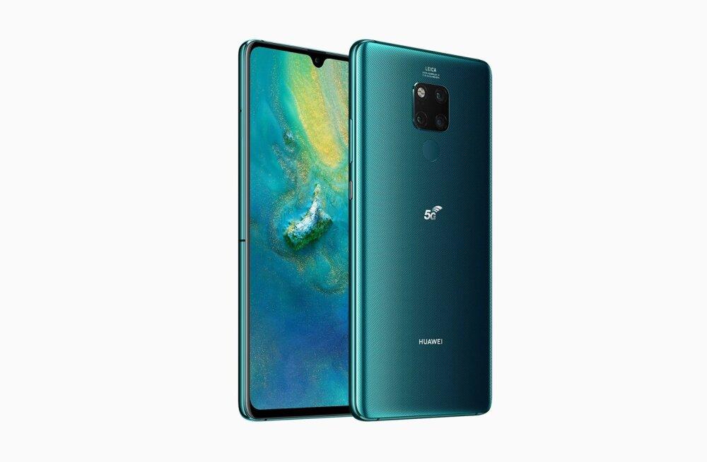 Huawei esimene 5G-telefon tuleb juba sel kuul