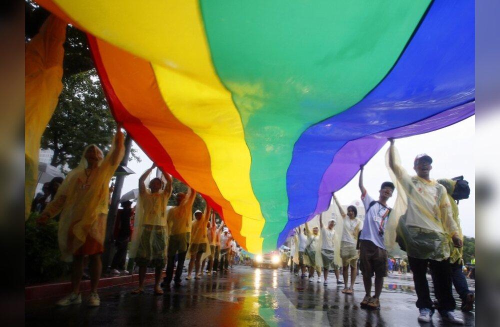 Митинге секс меньшинств
