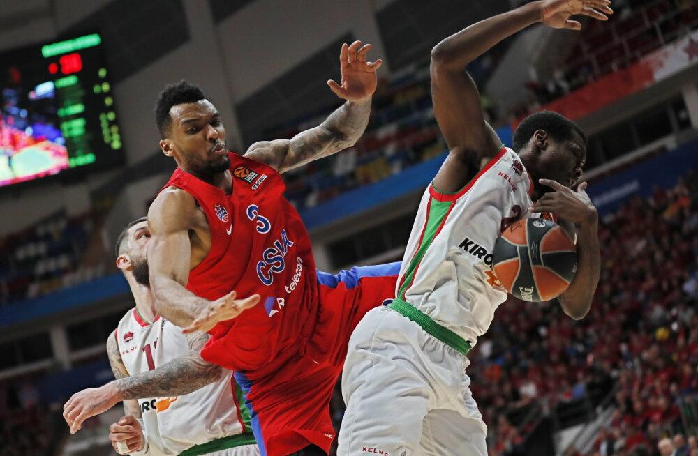 CSKA - Baskonia, palliga Jalen Jones