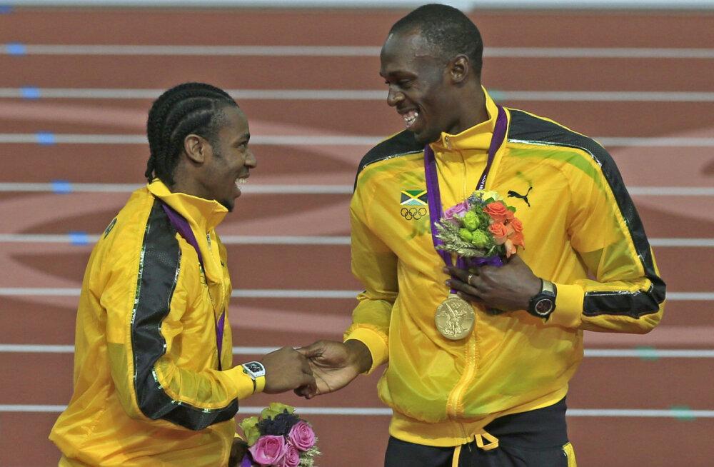 Yohan Blake ja Usain Bolt