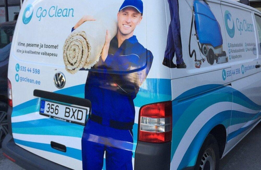 Kahest katkisest tolmuimejast edukaks puhastusfirmaks