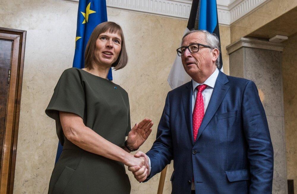 Jean-Claude Juncker presidendiga