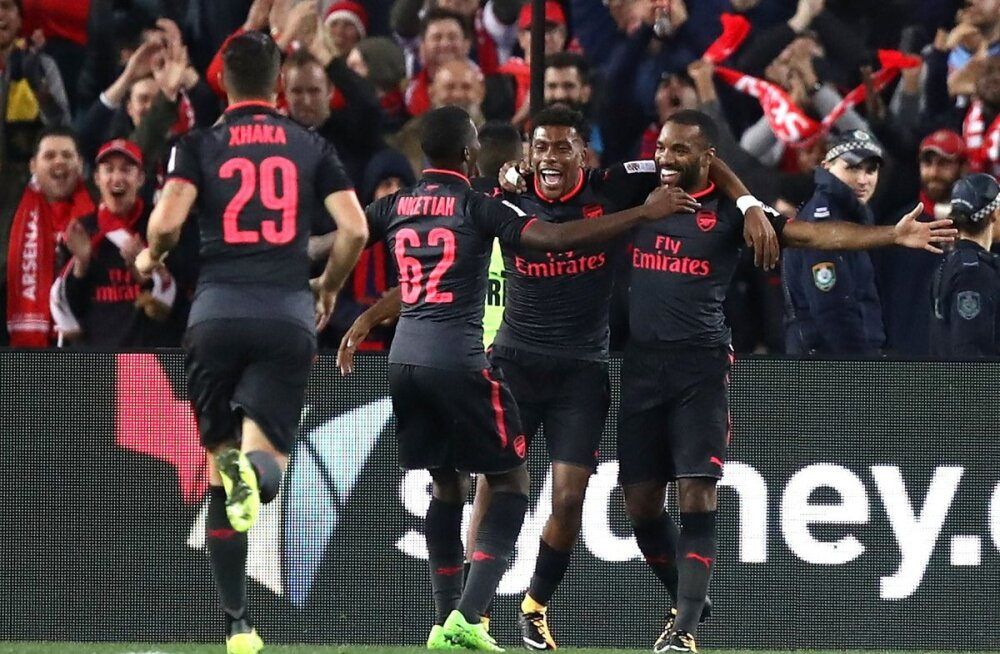 VIDEO | Arsenali uus ründetäht lõi debüütvärava kõigest 15 minutiga