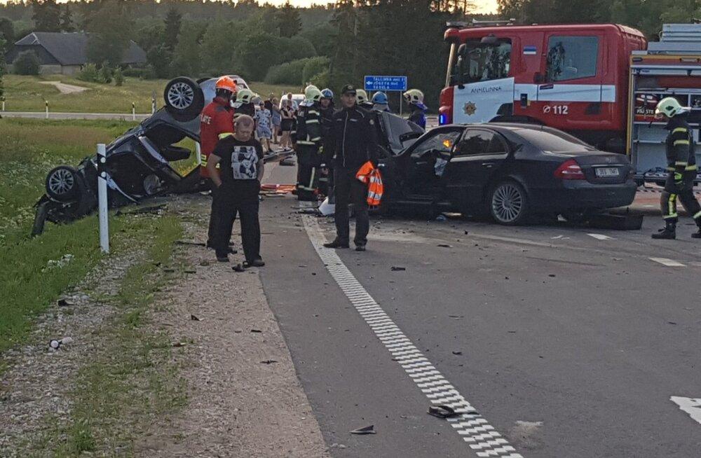 Surmaga lõppenud liiklusõnnetus Tartumaal