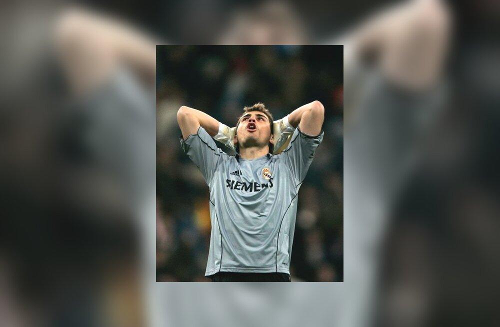Reali väravavaht Iker Casillas peale kaotust Santanderile