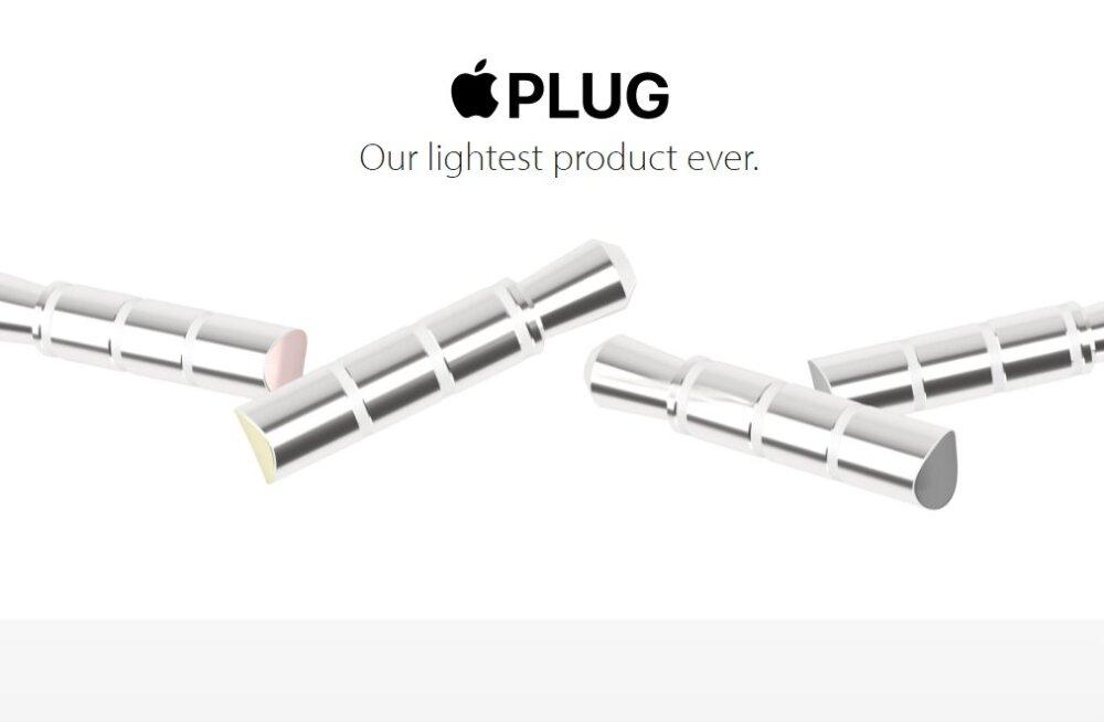 Uut iPhone`i juba parodeeritakse - palun väga, see on Apple Plug!