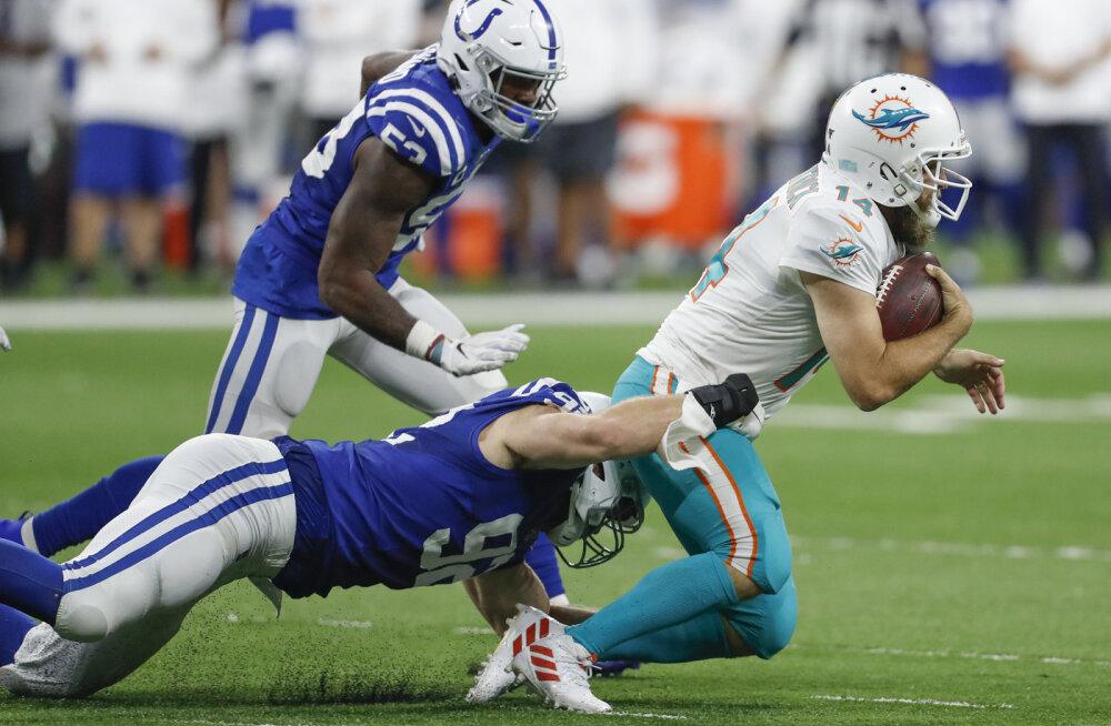 Kaotusseisust välja tulnud Colts ja Hunt pidid lõpuks vastaste paremust tunnistama