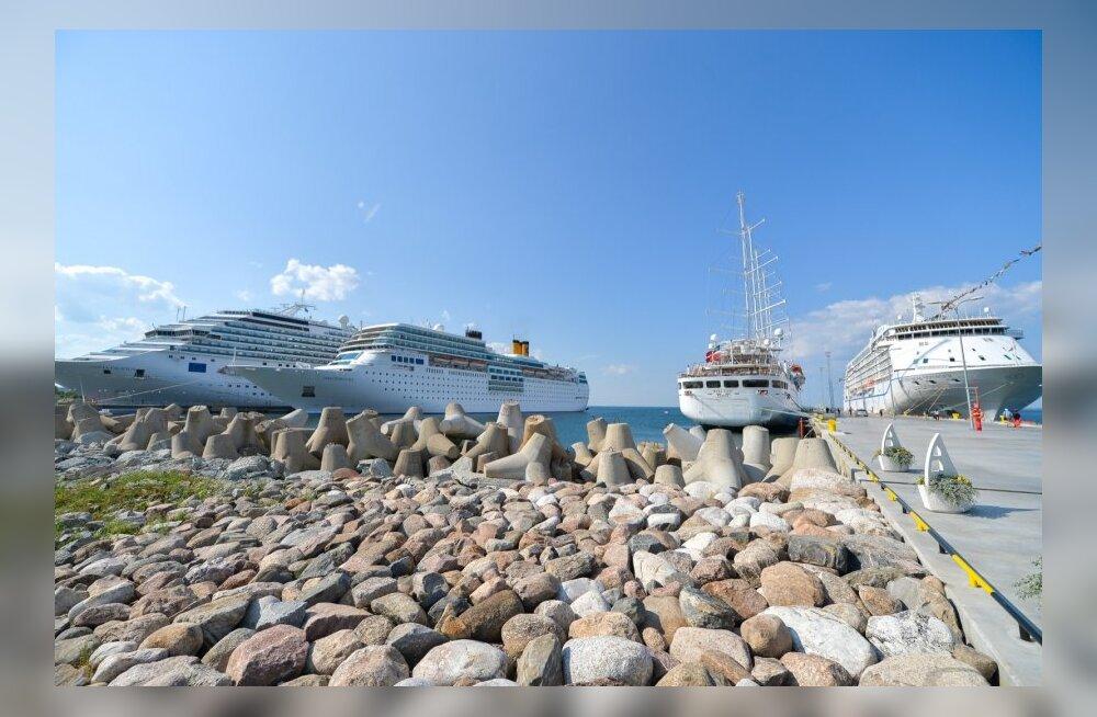 Reisijate arv Tallinna Sadamas kasvas, kaubamaht vähenes