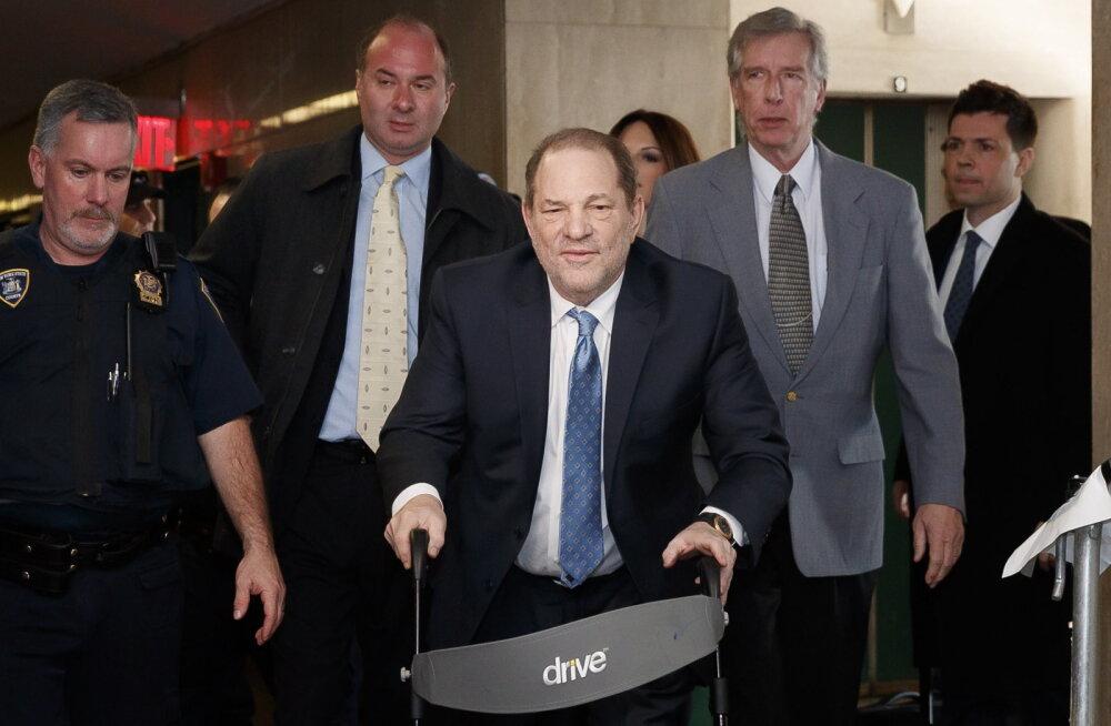 Langenud filmimogul Weinstein mõisteti vägistamises süüdi, karistuseks kuni 25 aastat vanglat