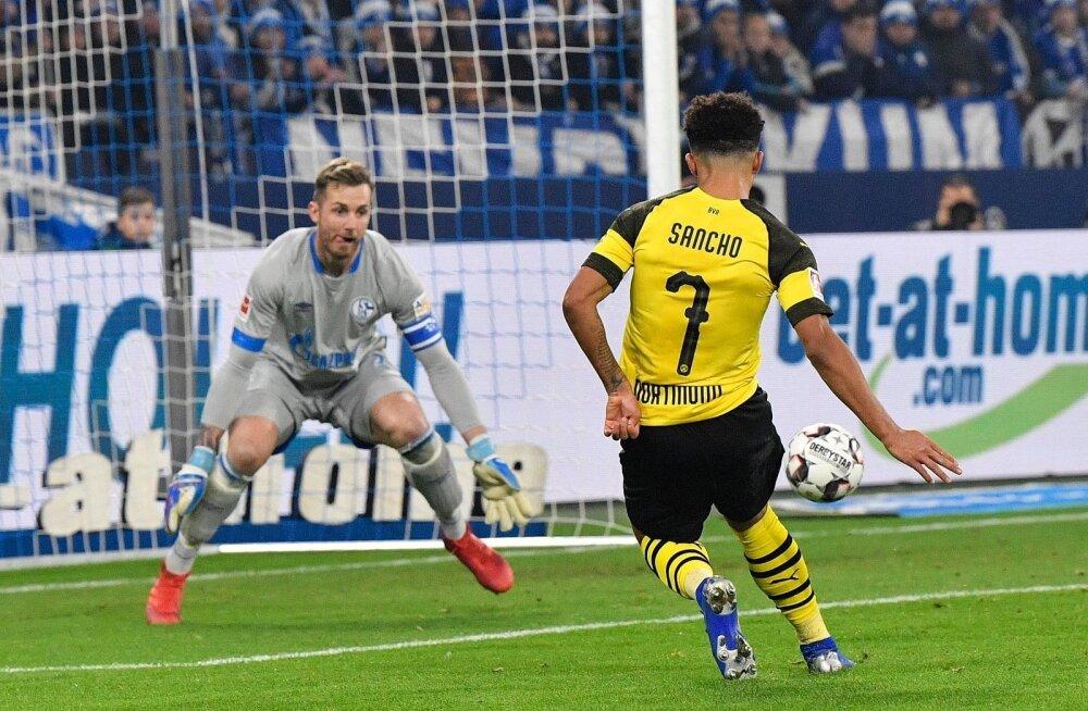 18-aastane Jadon Sancho teeb Dortmundi Borussia särgis imetegusid.