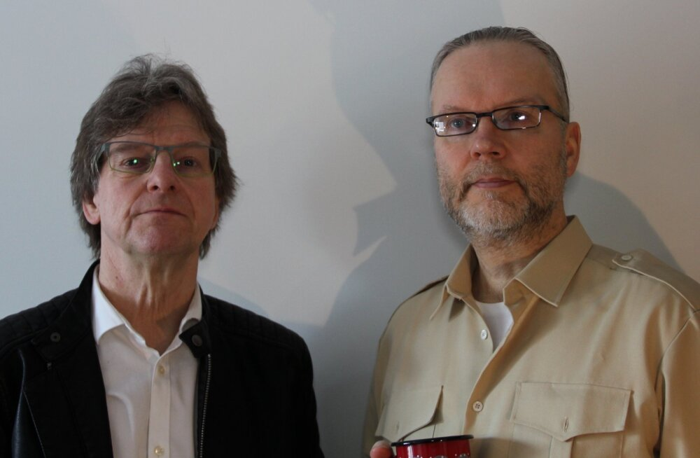 TELEÜLLATUS: Teravkeelsed Sami Lotila ja Risto Vuorinen hakkavad Tallinna Televisioonis saadet tegema