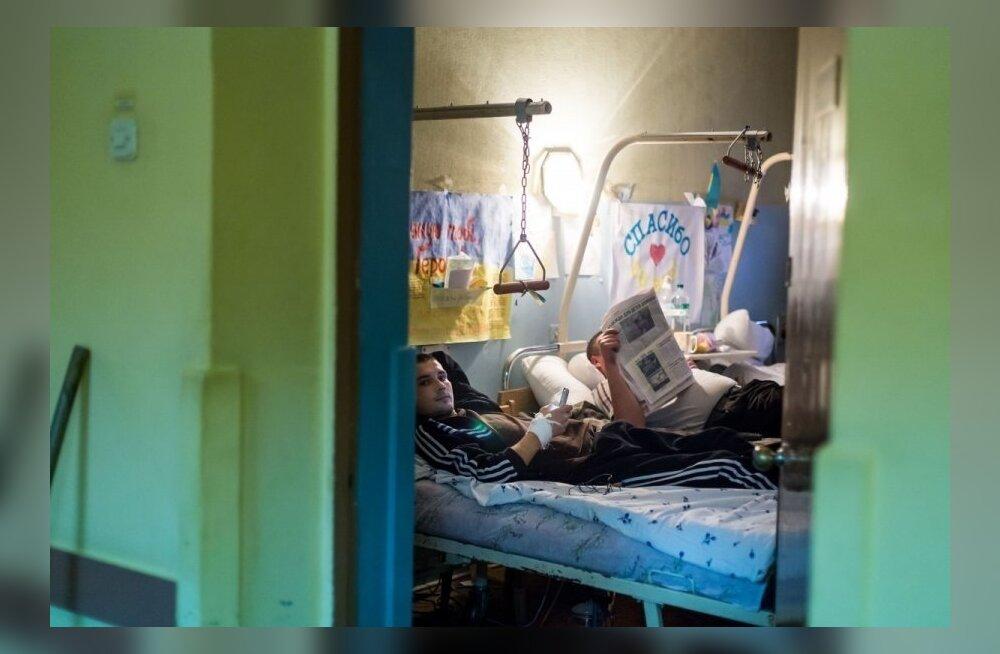 Kiievi sõjaväehaiglas on verd olnud põlvini