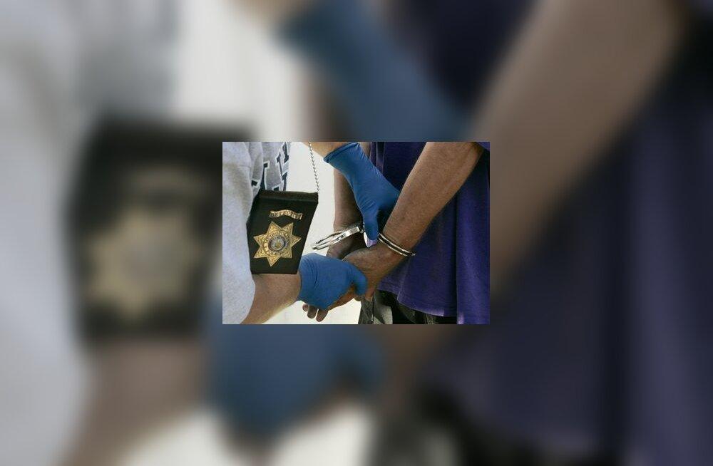 kurjategija käerauad vahistamine