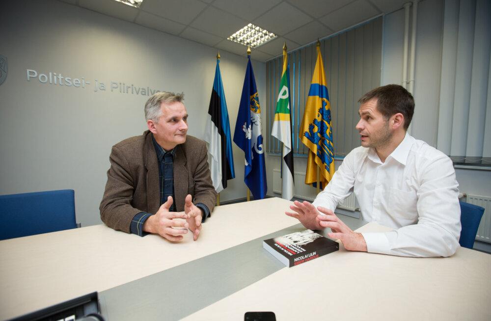 Tippkriminalist Margus Tohter intervjuus PPA juhile Elmar Vaherile: idioodi järjekindlus tuleb jäljeküti töös kasuks
