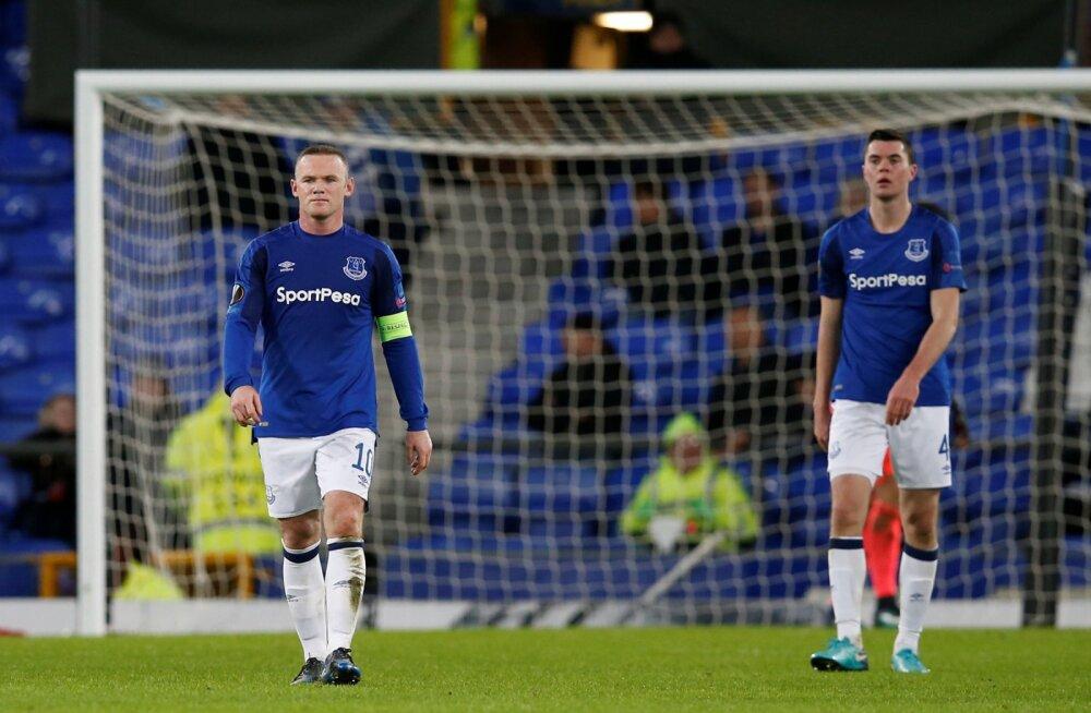 1:5 kolaka saanud Everton kordas Euroopa liigas negatiivset ajalugu