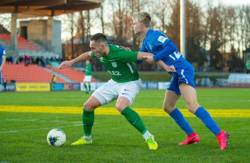 FC Tammeka vs FC Flora 08.11.20