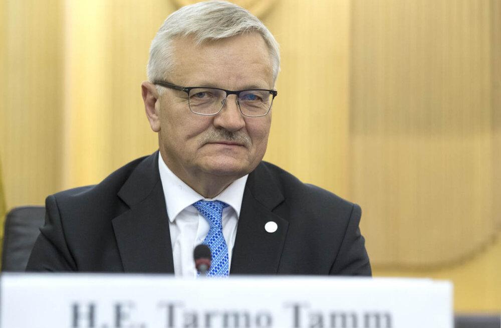 Maaeluminister Tarmo Tamm Urmas Kruusele: kodutöö tegemata, hr Kruuse?!