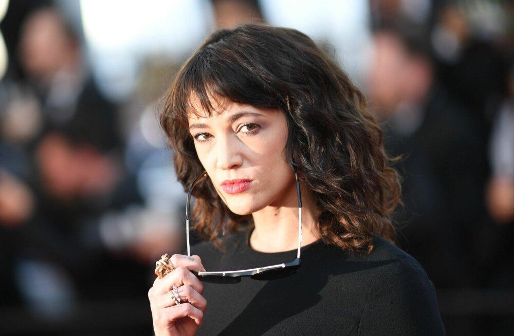 Ahistamisskandaali sattunud näitleja Asia Argento selle aasta kevadel Cannes'i filmivestivalil.