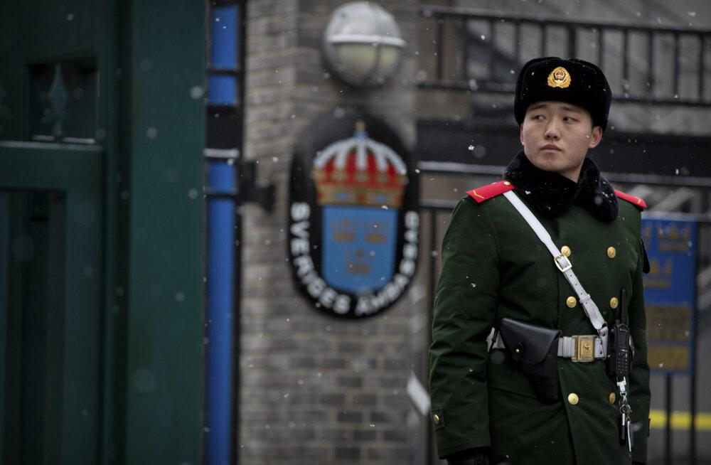 Rootsi endist suursaadikut Hiinas süüdistatakse riikliku julgeoleku ohtu seadmises