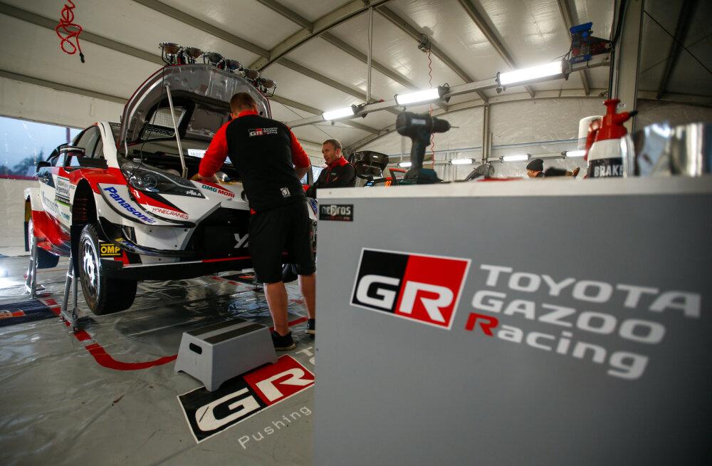 DELFI ARGENTINAS I Toyota spordidirektor: veel ei tea, kas laseme sõitjatel sekundimängus pühapäeval teineteise vastu lahingut pidada