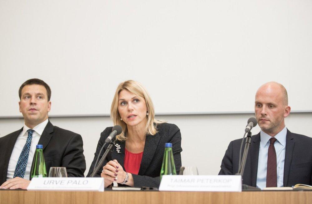 ID-kaardi turvalisuse pressikonverents Superministeeriumis