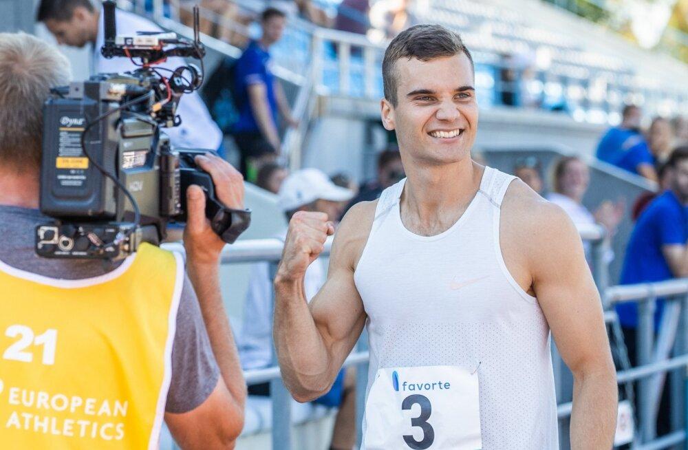 Kas tänavune üllataja Risto Lillemets sekkub võitlusse olümpiakoondise koha eest?