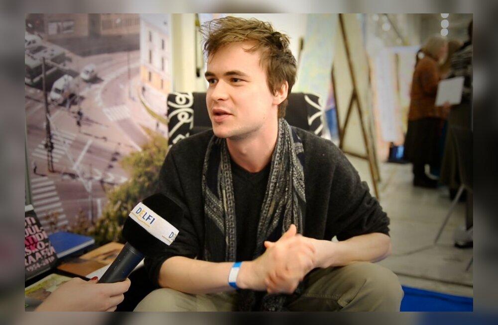 DELFI VIDEO: Marten Kuningas: meeleldi teeksin midagi oma kätega, näiteks süüa või puutööd