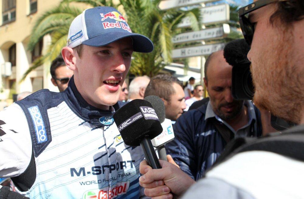 Tänaku endine tiimikaaslane Evans alustab uut hooaega WRC2 sarjas