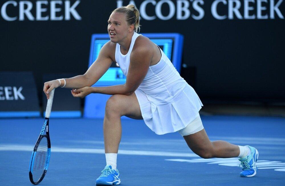 Kaia Kanepi jõudis tänavu Australian Openil kolmandasse ringi.