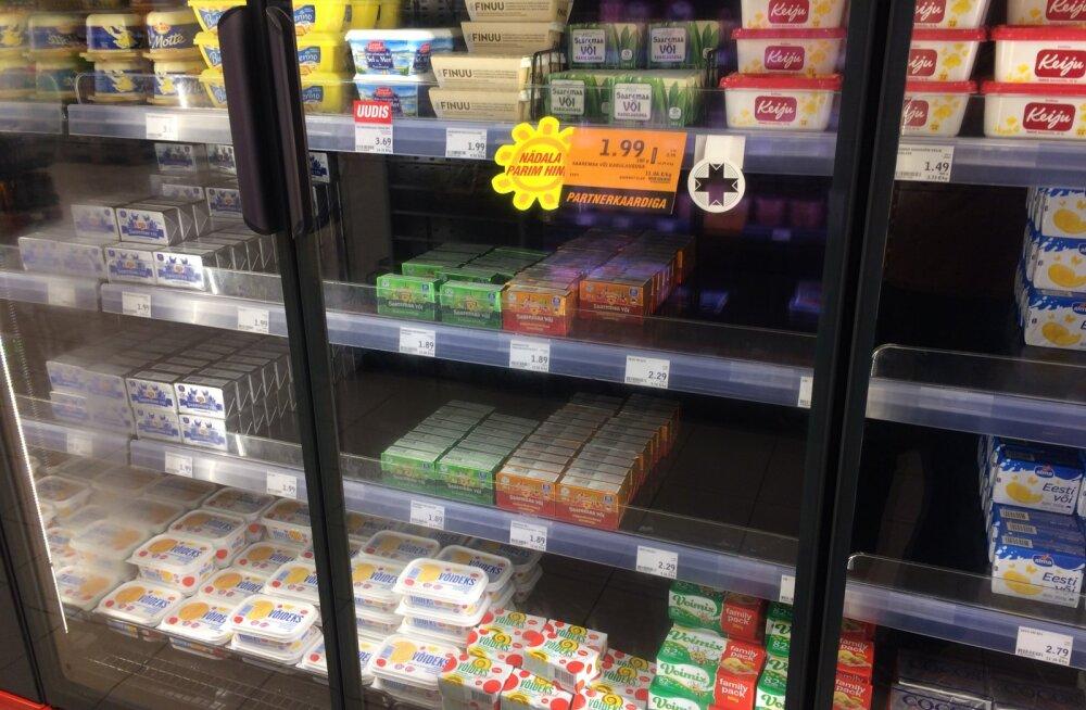 Ajutisest võivaliku vähenemisest kauplustes hoopis olulisem on toidujulgeolek – Eestis pole laovarusid