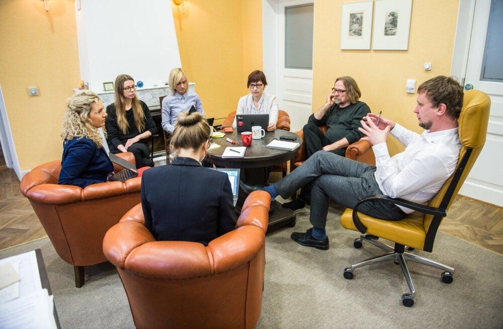 EV 100 toimkonna koosolek