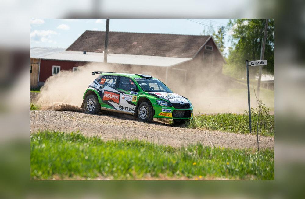 Soome meistrivõistluste liider Eerik Pietarinen tuleb Rally Estoniale R5 klassis konkurentsi pakkuma