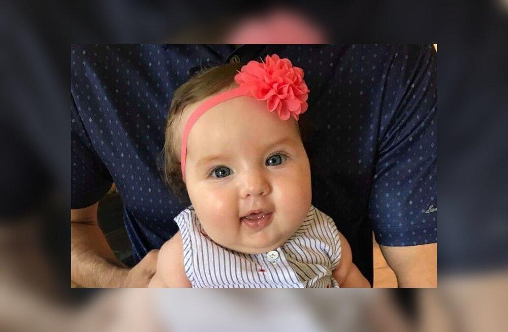 Поздравляем! Маленькой Аннабель исполнилось пять месяцев и у нее все хорошо