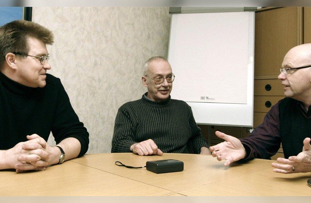 JUHAN KIVIRÄHK, ILMAR PALLI, ANDRUS SAAR
